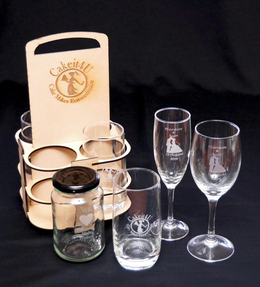 Cakeit4U glassware