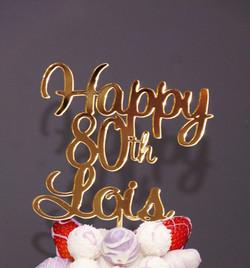 Happy 80th Lois