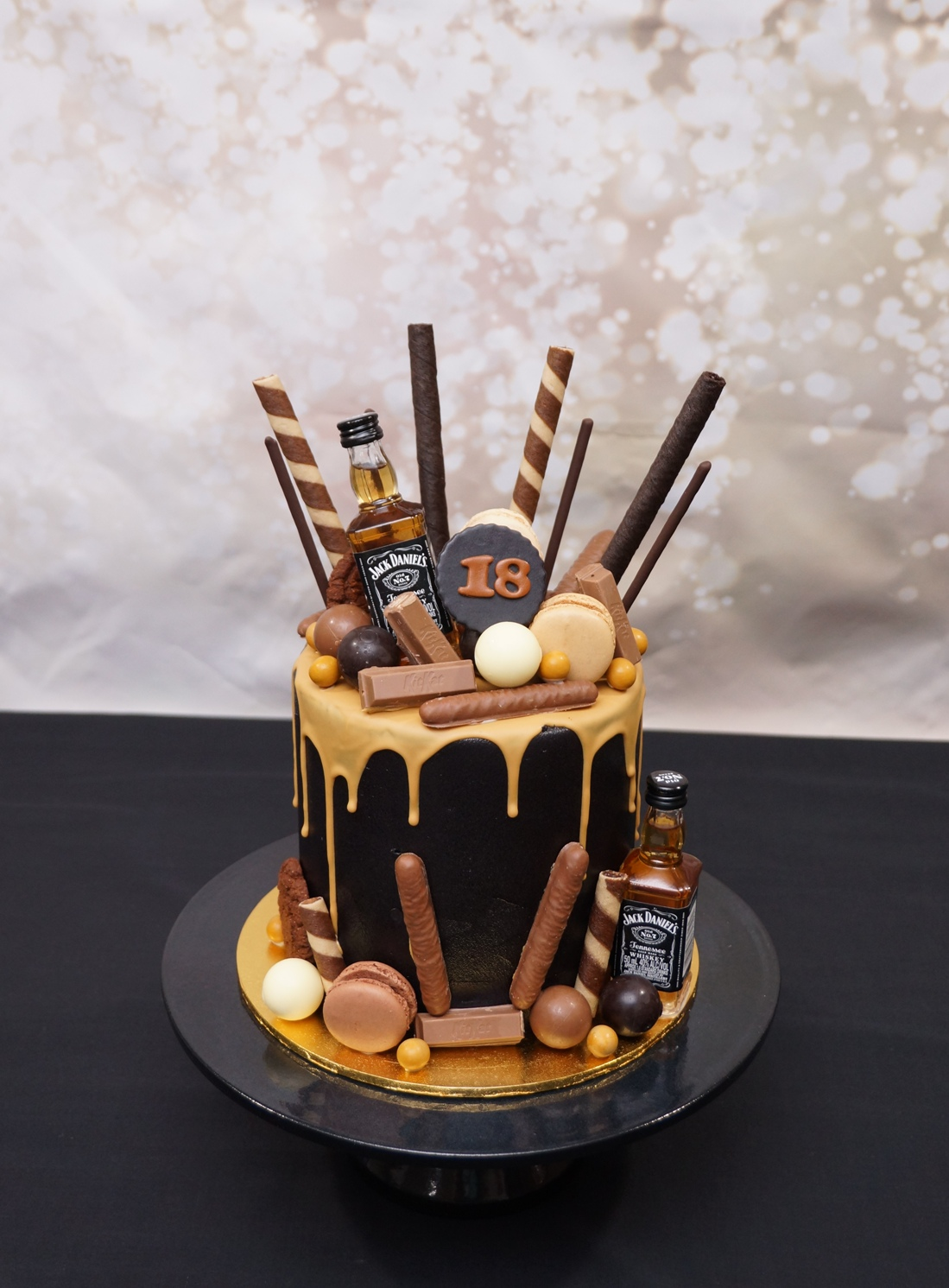 Jack Daniels Drip Cake - 28.11.20