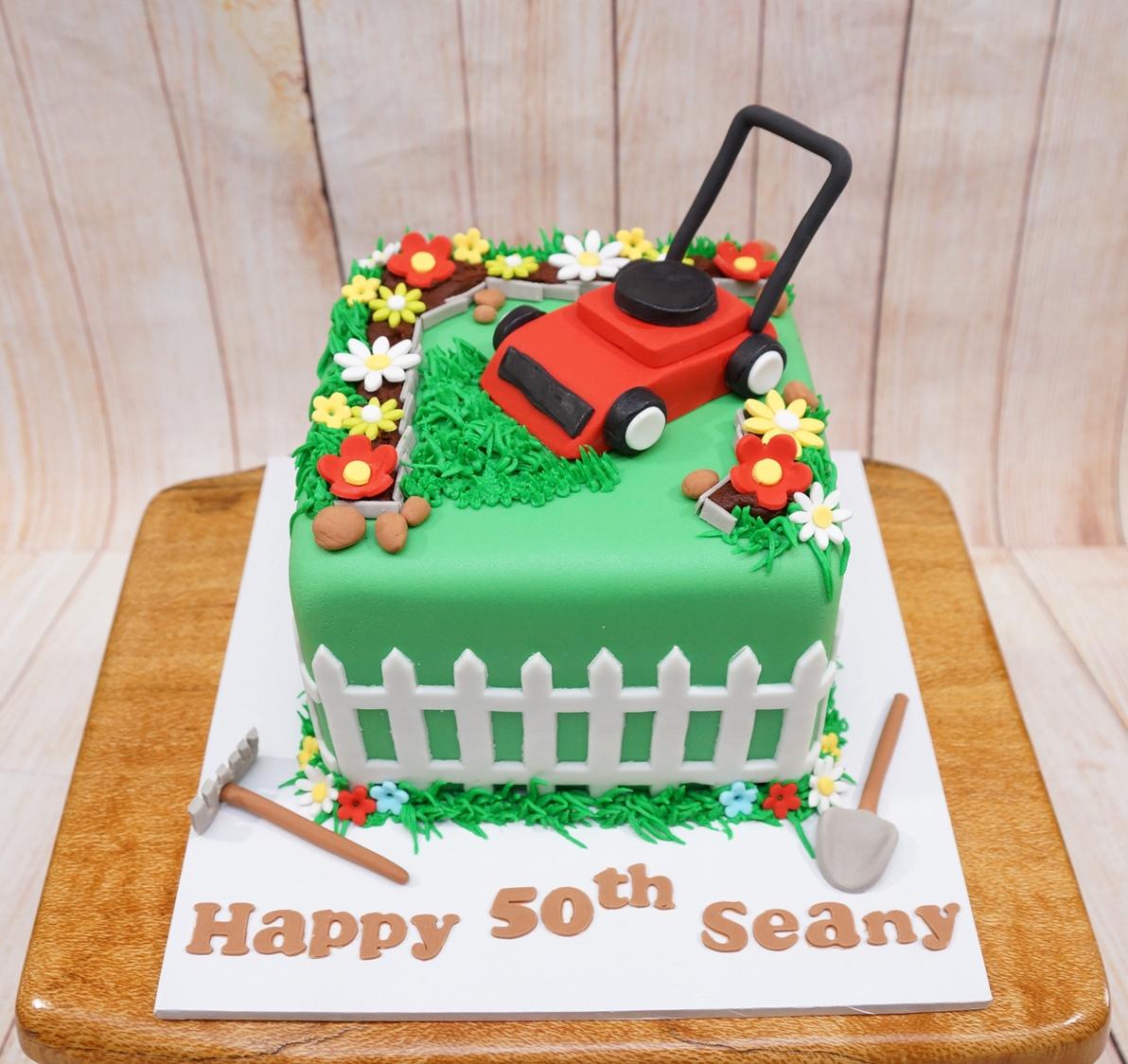 Gardening Cake 2