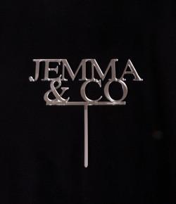 Silver Mirror Jemma & Co Topper