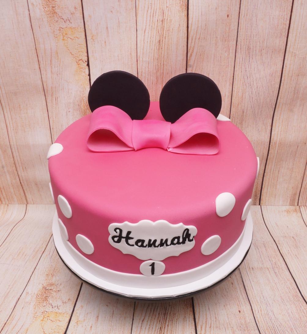 Mini Mouse Cake 7.09.19