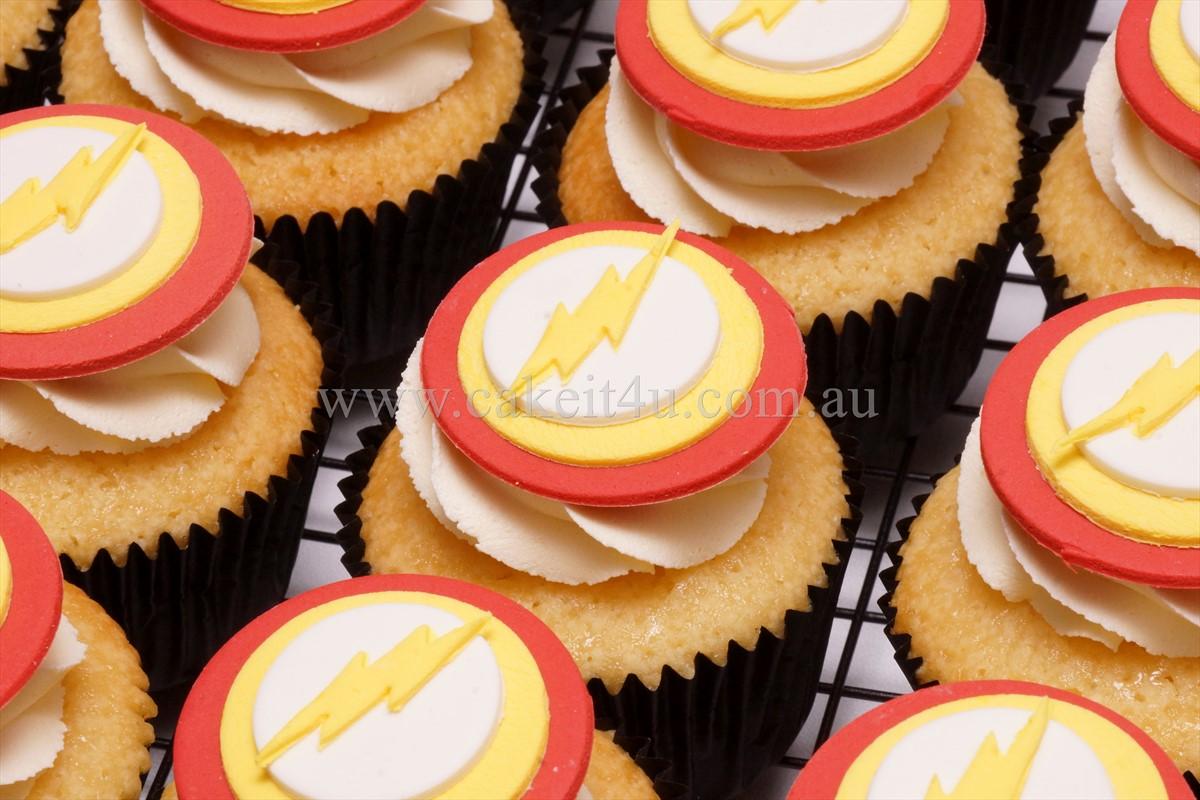 Flash Cupcakes 2