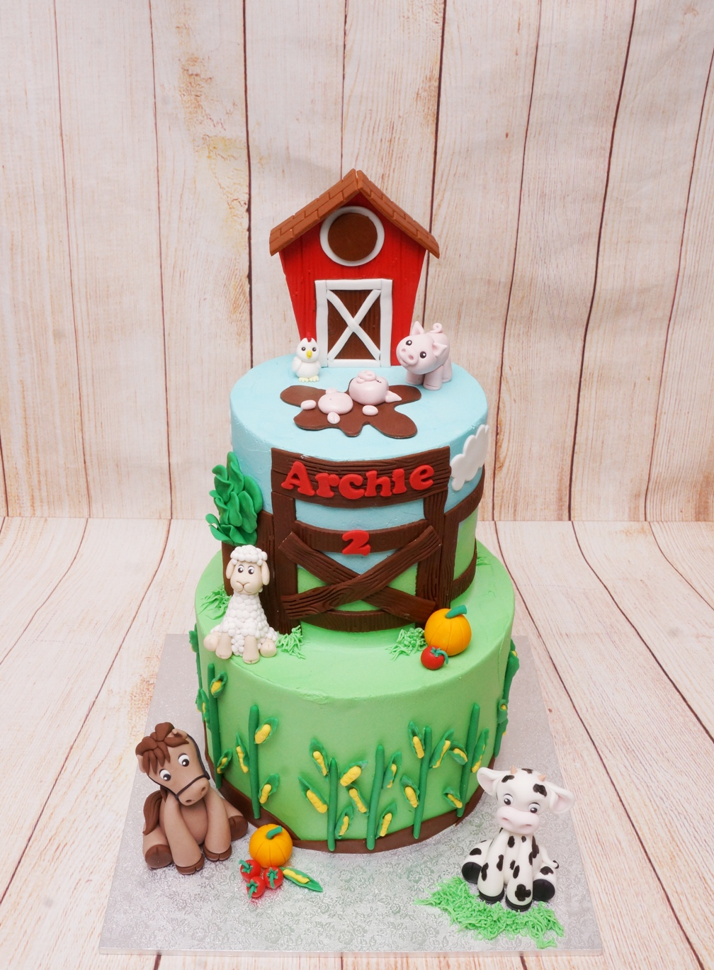 Farm Yard Cake 3