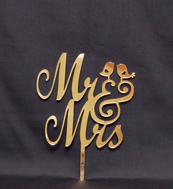 Mr & Mrs with Birds 2