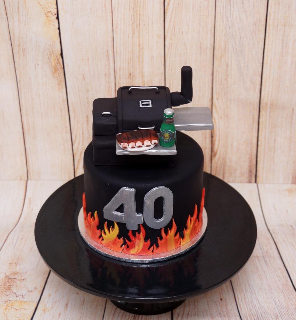 Smoker cake