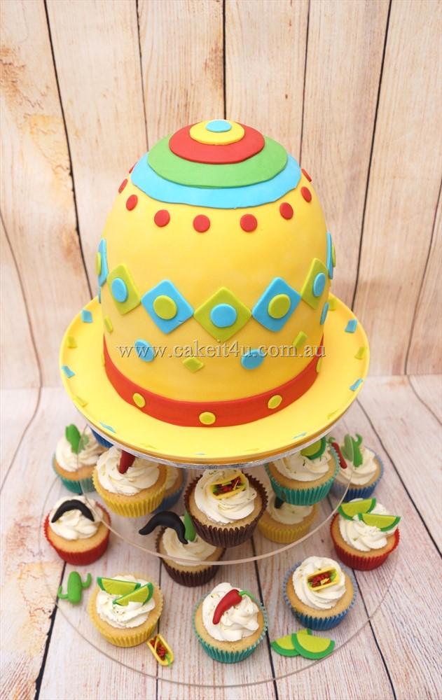Sombrero Cake 1