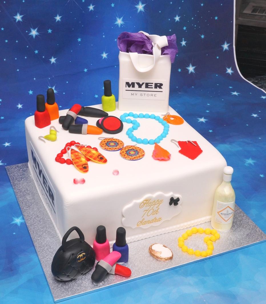 Shopaholic Cake 1