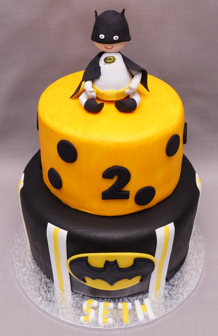 Bat Boy Cake 1