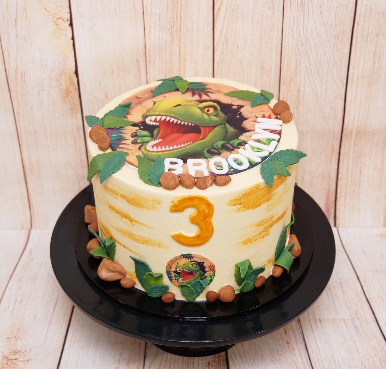 T Rex Cake 11.08.19 2