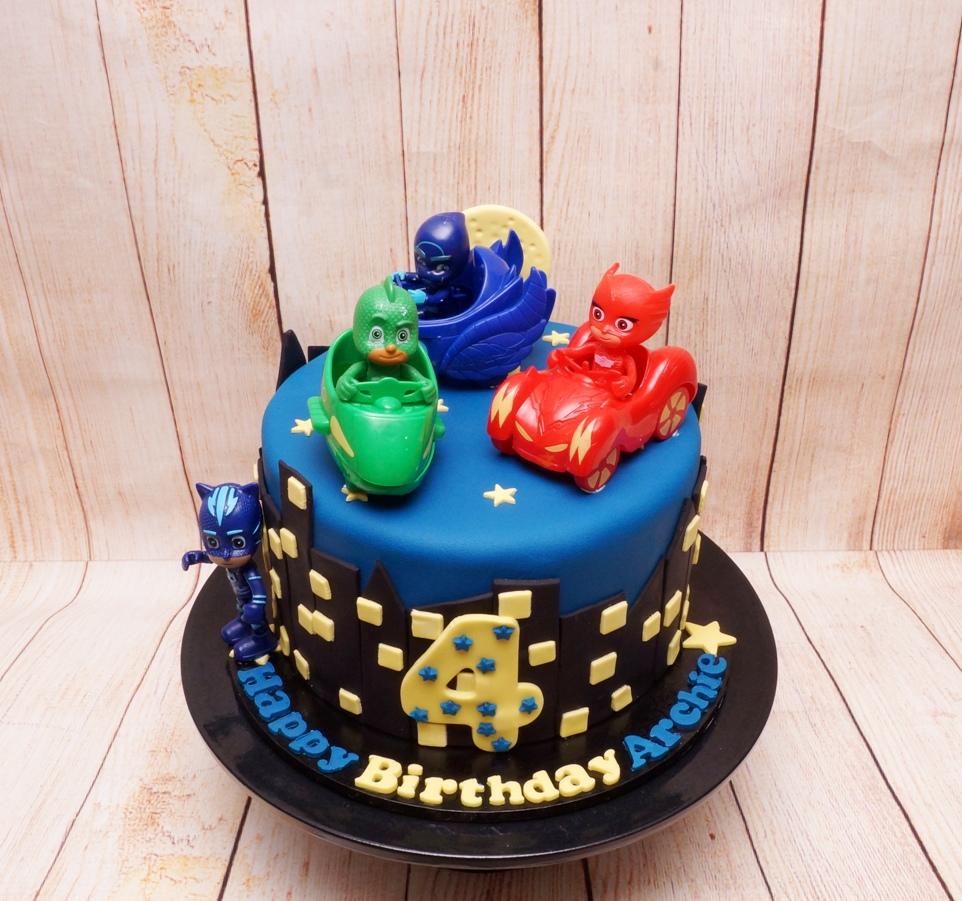 PJ Mask Cake 1