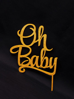 Oh Baby - Gold glitter