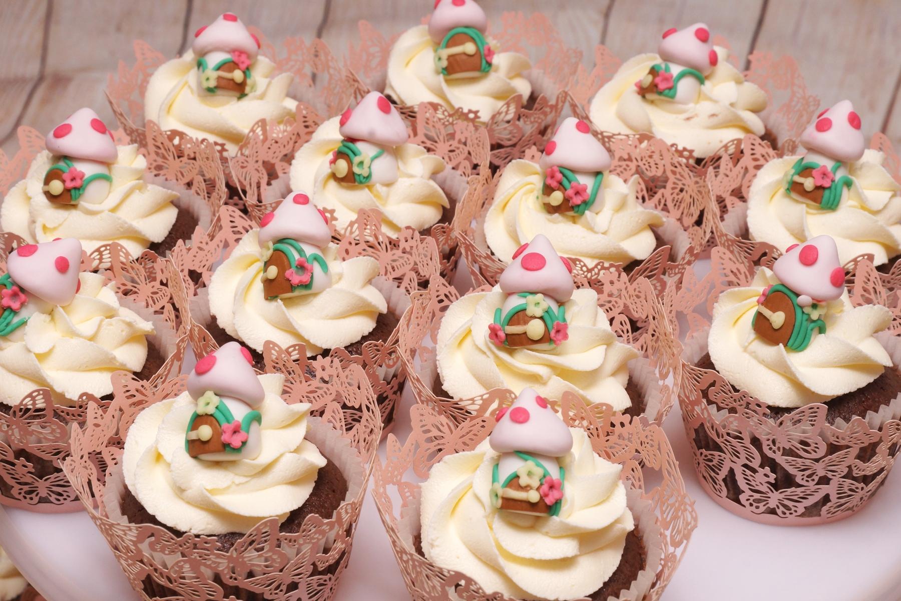 Mushroom Cupcakes 1