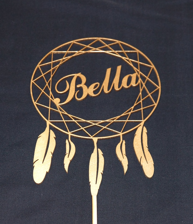 Gold Dream Catcher