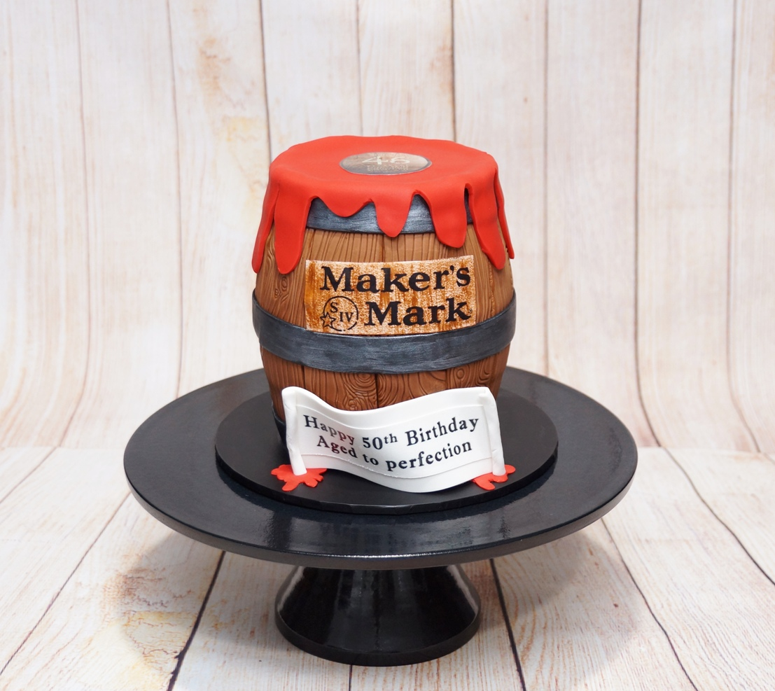 Whiskly Barrel Cake 1