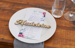 Wooden Place Names - Madeleine