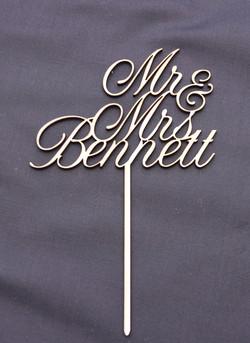Mr & Mrs Bennett