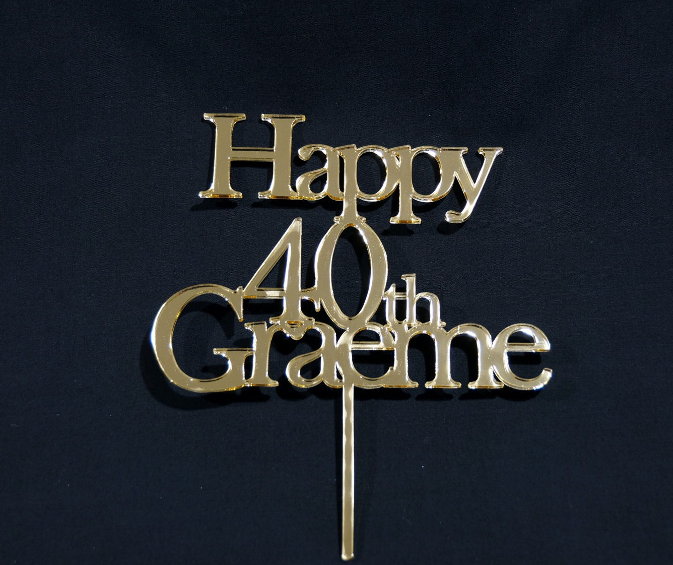 Happy 40th  Graeme