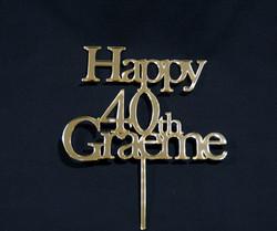 Happy 40th  Graeme