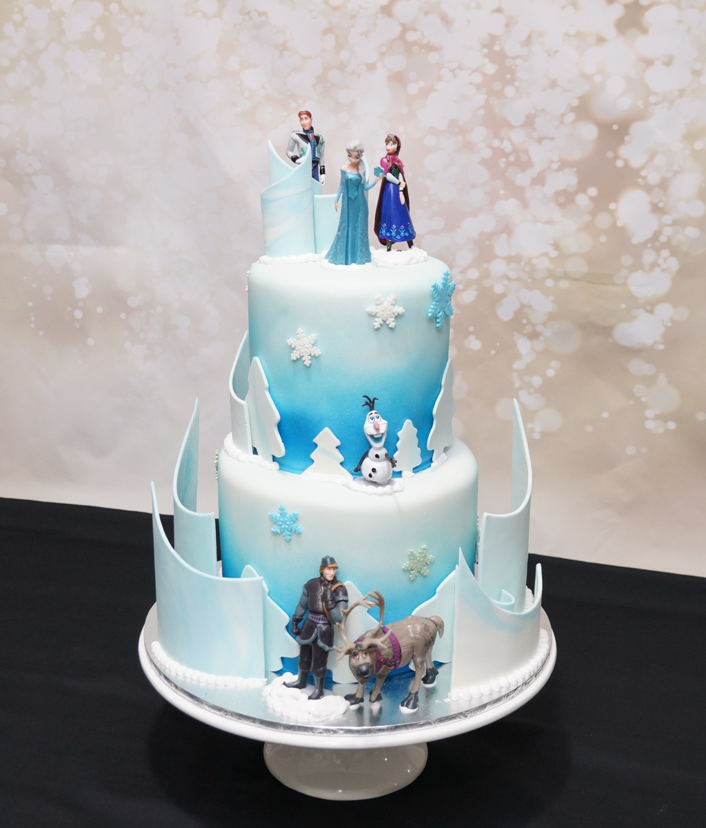 2 Tier Frozen Cake 4