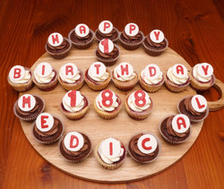 Med Centre Cupcakes