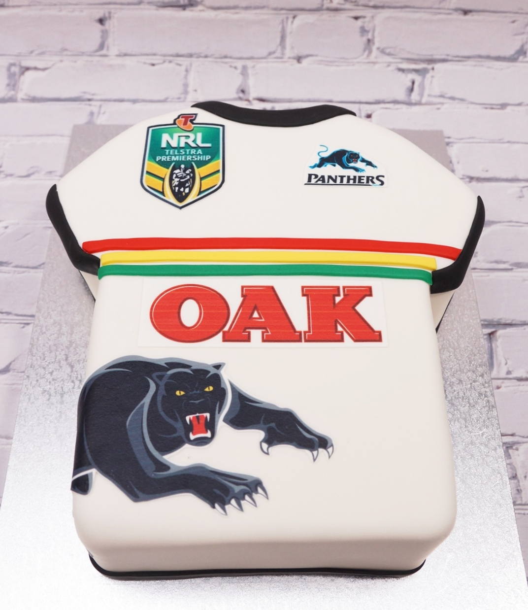 Pentrith Panthers Jersey Cake 1