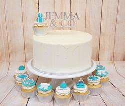 Tiffany Cake and Cupcakes 1