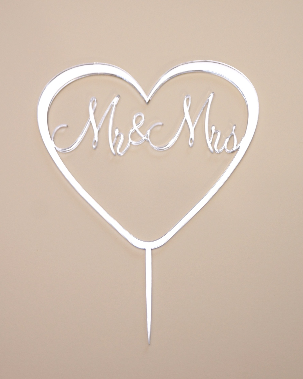 Mr & Mrs Silver Mirror
