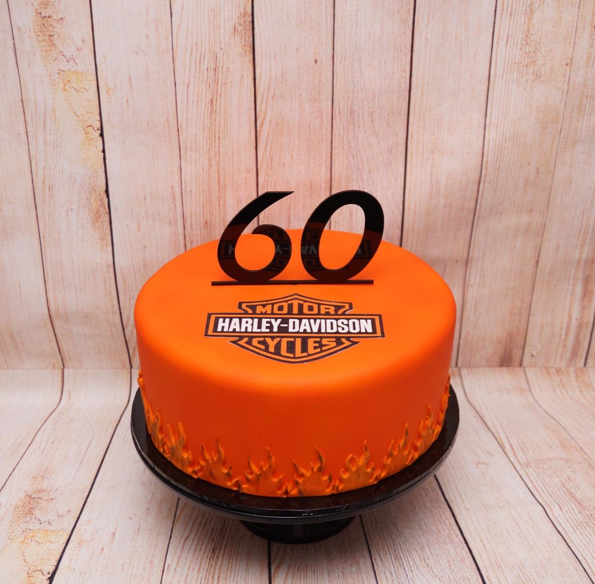 Harley Davidson Cake 8.09.18