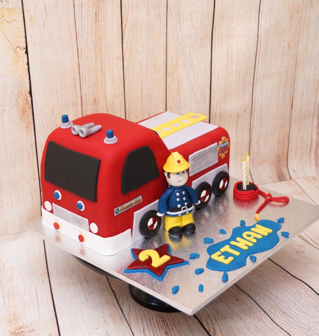 Fireman Sam Cake 1