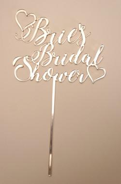 Gold Mirror Bridal Shower 1