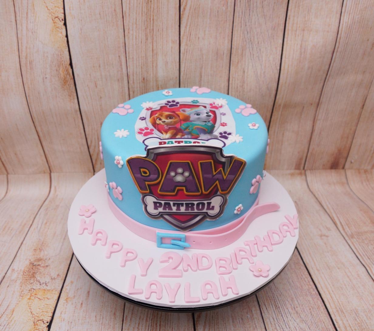 Paw Patrol Cake 8.09.18
