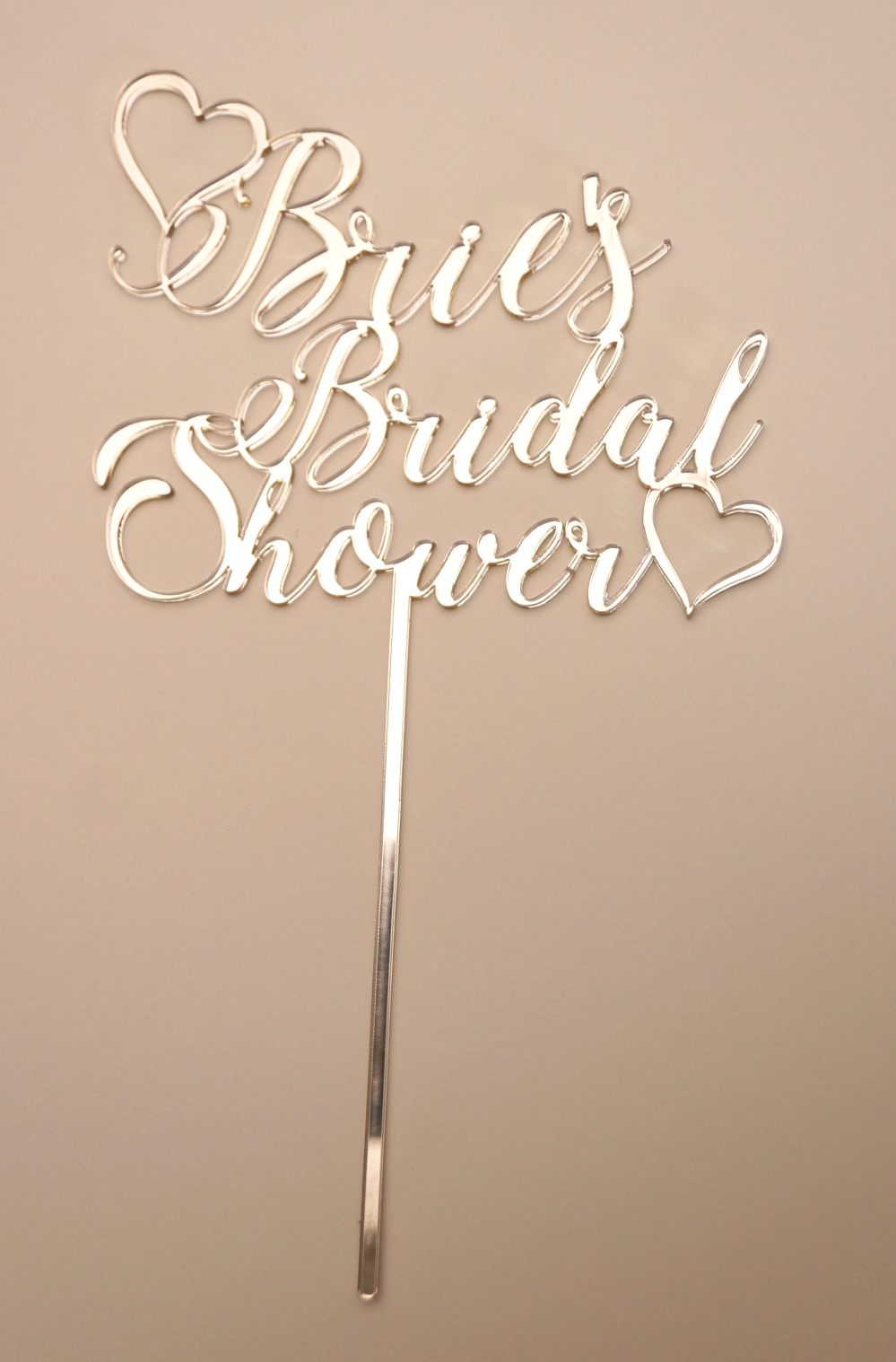 Gold Mirror Bridal Shower 1