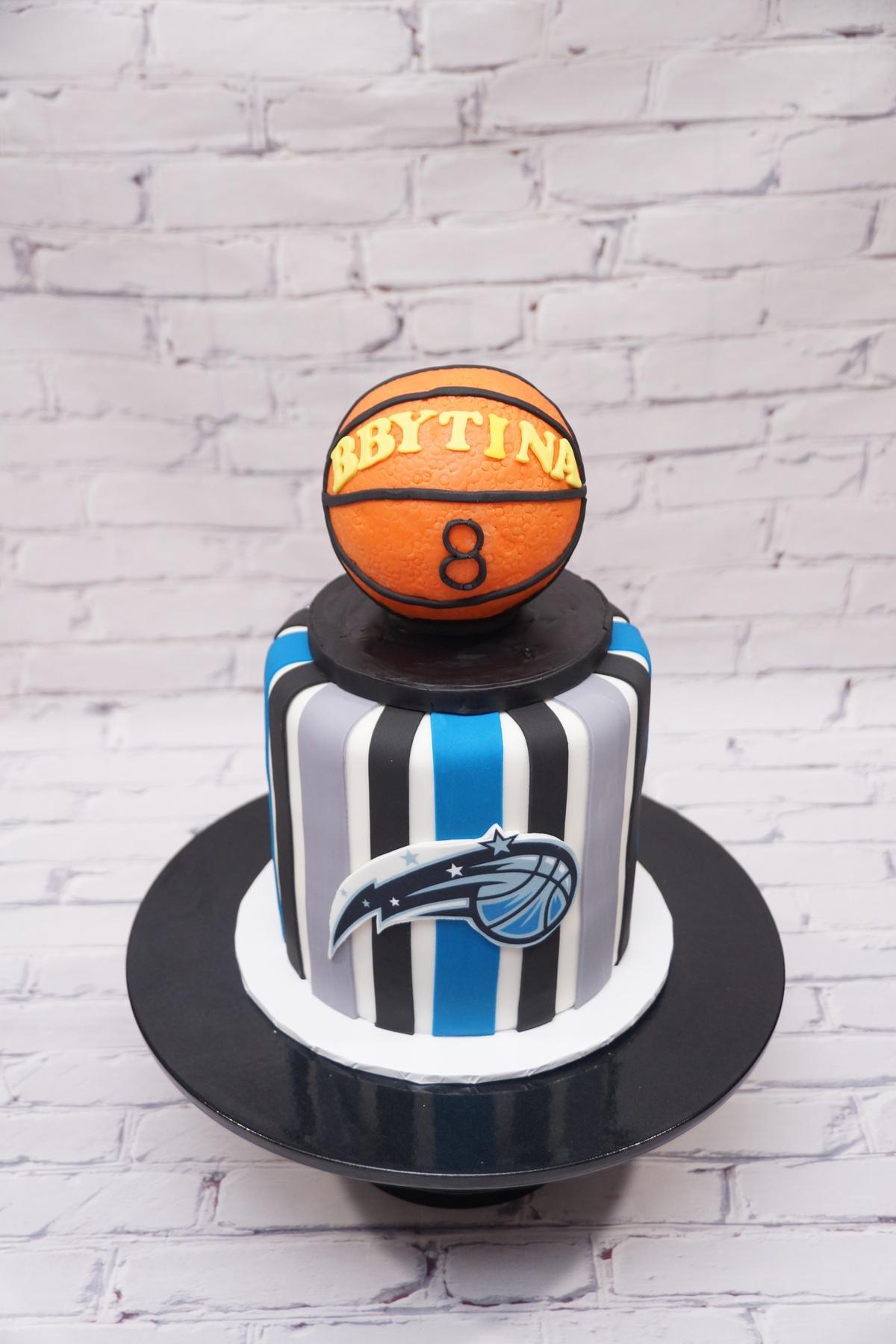Orlando Magic Basketball cake