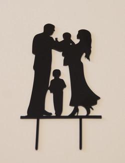 Bride & Groom with 2 Children