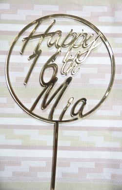 Happy 16th Mia in Circle