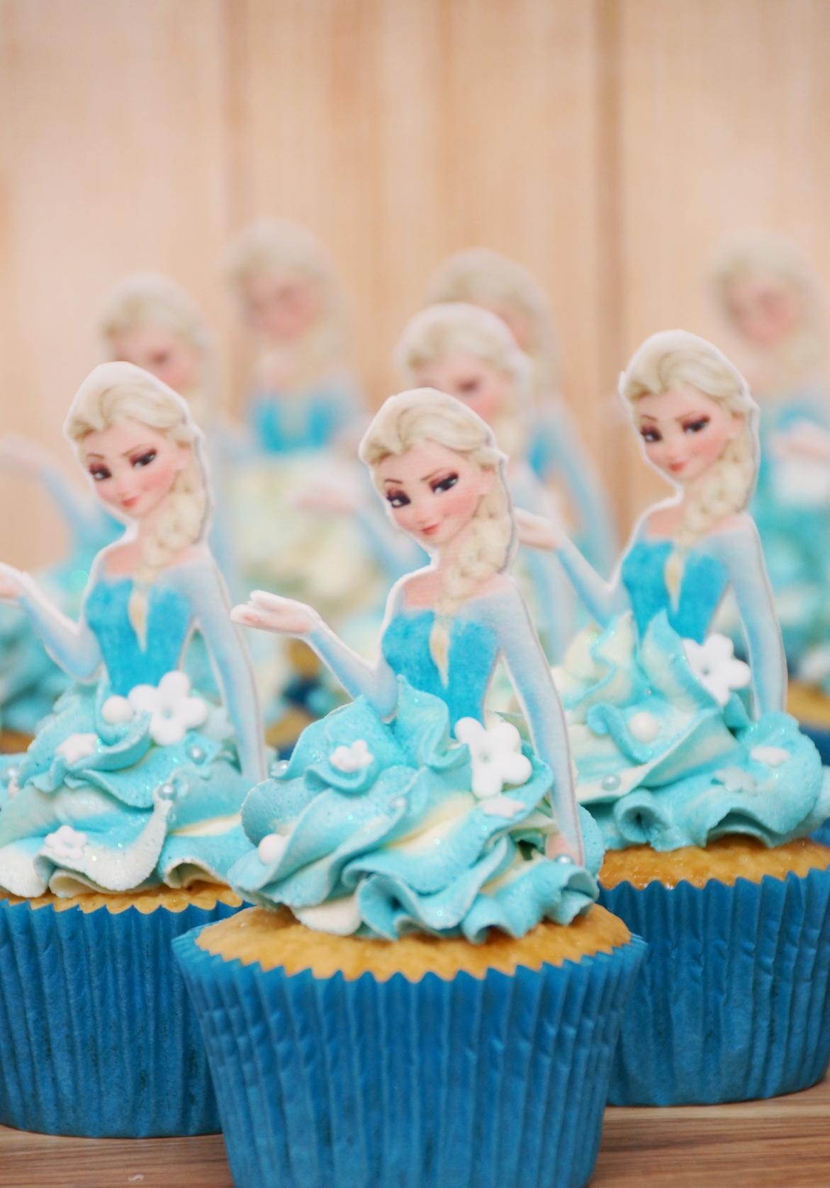Elsa Cupcakes 4