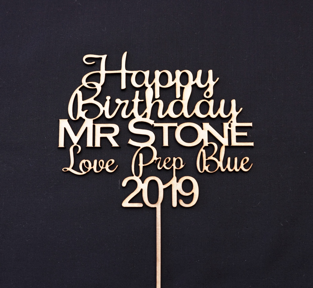 Happy Birthday Mr Stone