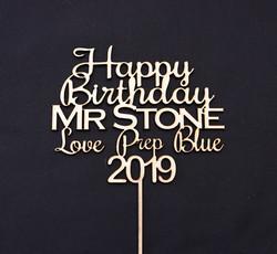 Happy Birthday Mr Stone