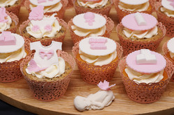 Pink Baby Shower Cupcakes 4