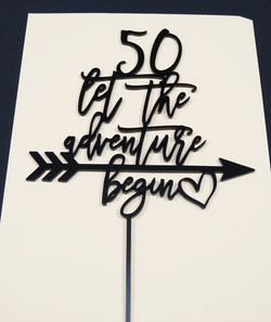 50 Let the Adventure Begin