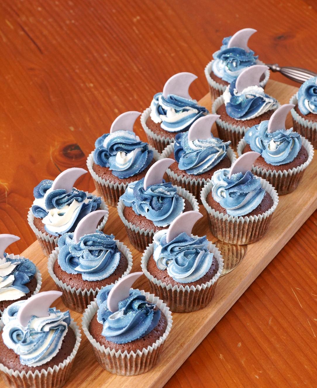 Sharkfin Cupcakes 1