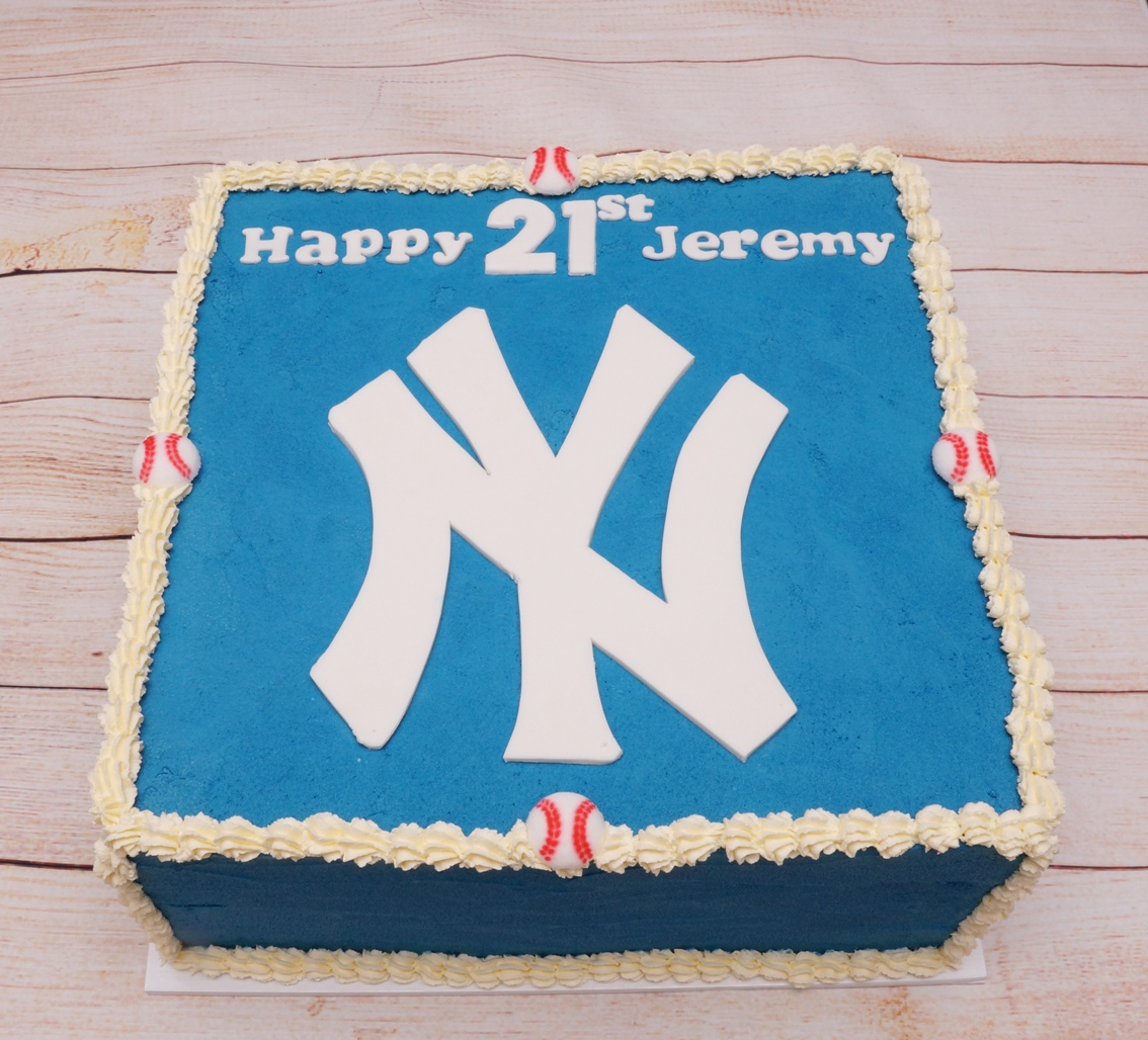 New York Yankees Birthday Cake