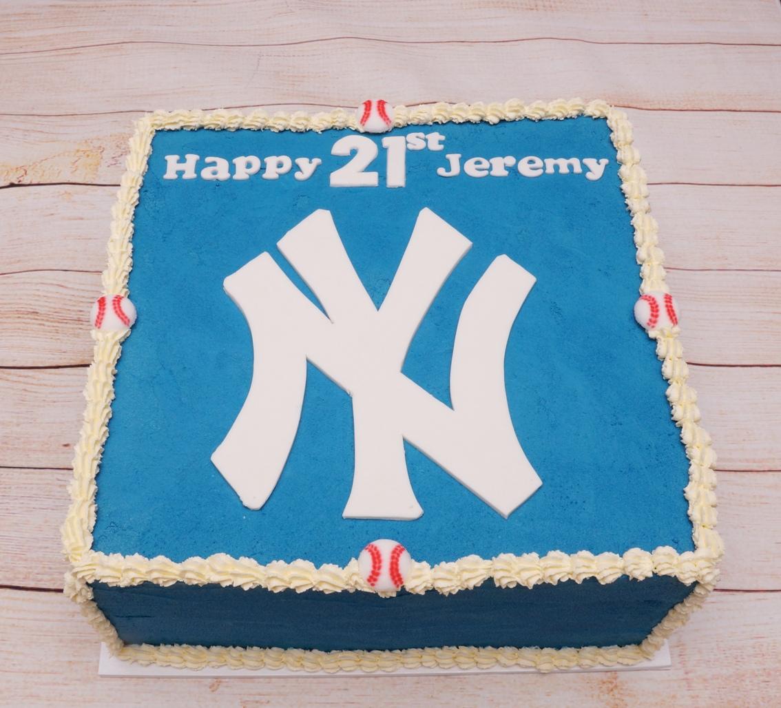 New York Yankees Birthday Cake