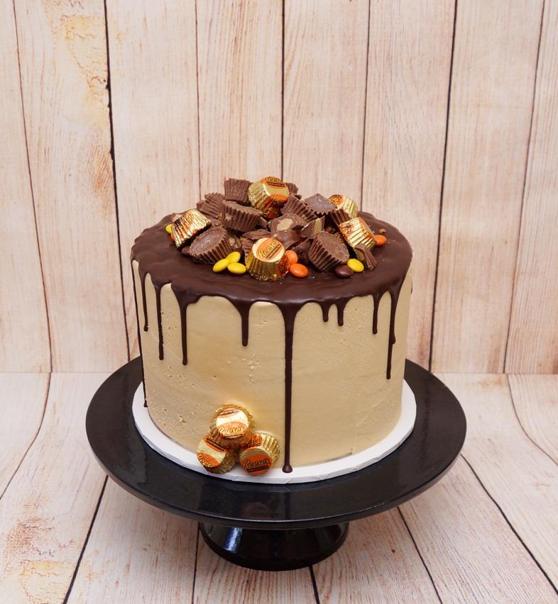 Reece's Peanut Butter Cups Cake