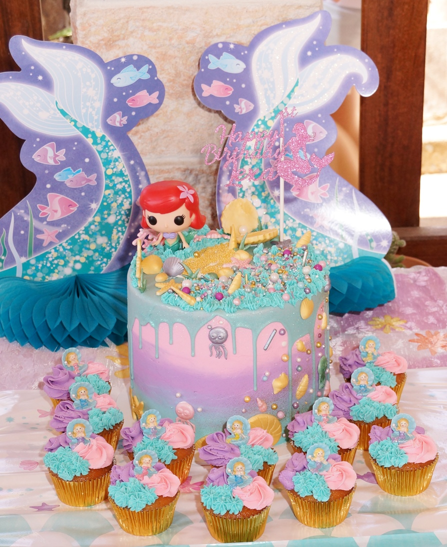 Ariel Mermaid Cake 2