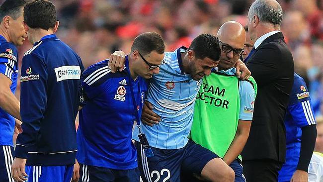 Ali Abbas injured - Sydney FC.jpg