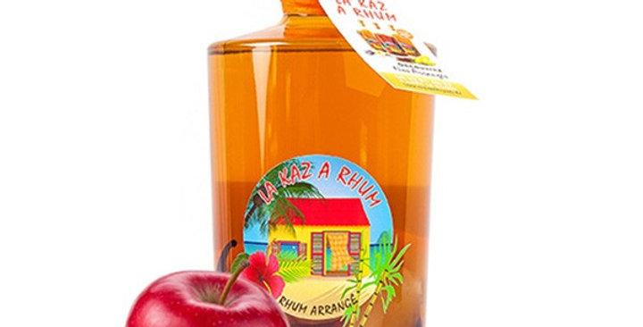 Rhum arrangé Pomme Cannelle - La Kaz à Rhum