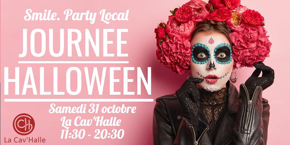 Journée Halloween - Party Local à La Cav'Halle !