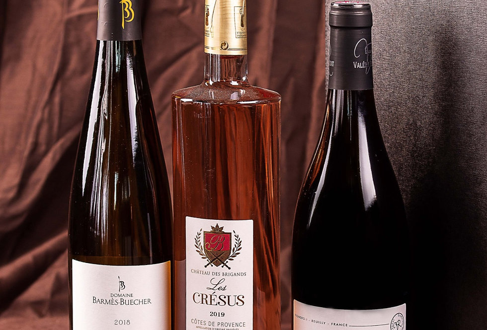 Le Triangle blanc - Riesling + Crésus + Pinot noir
